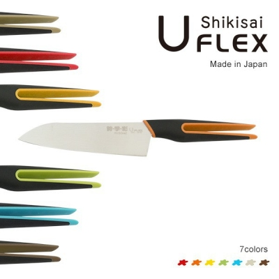 SHIKISAI uFLEX Santoku kolor zielony